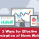 5 ways for effective optimization of news websites