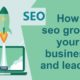 How seo grows your business and leads?